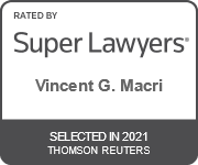 Rated By Super Lawyers | Vincent G. Marci | Selected in 2021 | Thomson Reuters